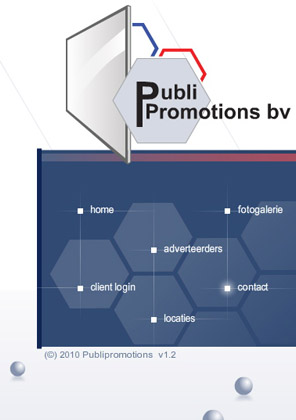 Foto website PubliPromotions